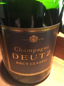 Champagne Deutz Brut Classic, France