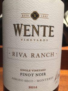 Wente Riva Ranch Pinot Noir, Monterey, California
