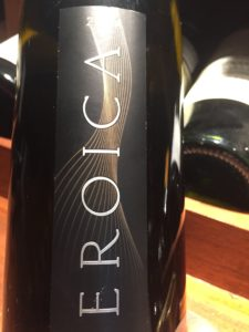 Eroica Riesling, Columbia Valley, Washington