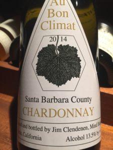 Au Bon Climat Chardonnay Santa Barbara County