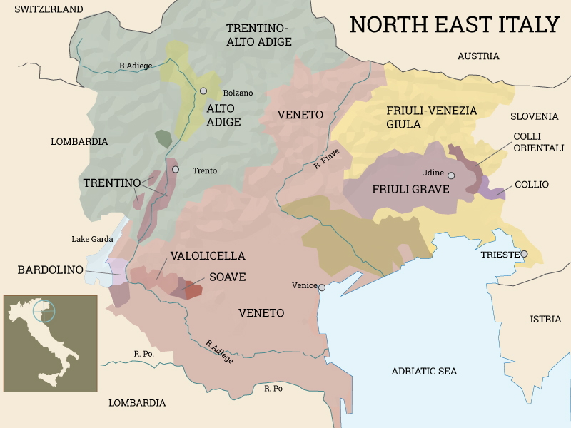 The Wines Of Northeast Italy Andrea Wine